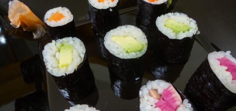 Veggie Sushi : Boon Oude Geuze